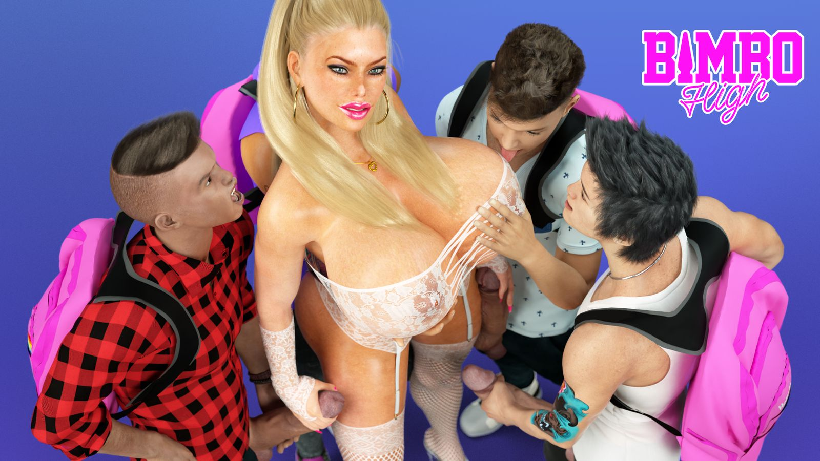 Bimbo High Sex Game 4
