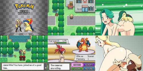 Pokémon Ecchi Version Sex Game 5