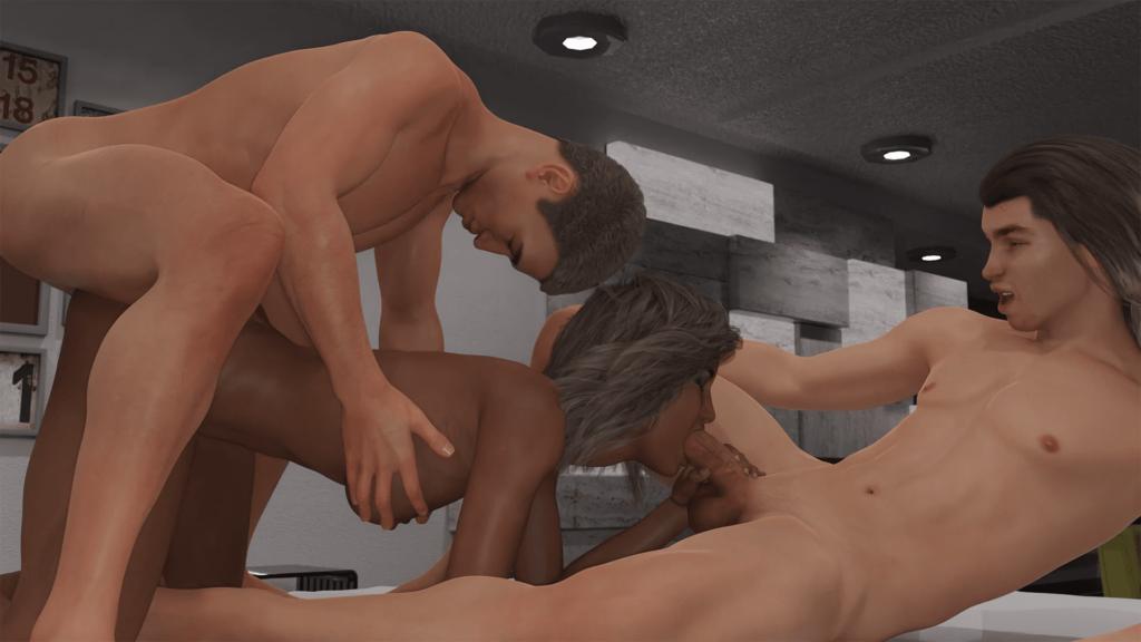 The Adventurous Couple Porn Game 6
