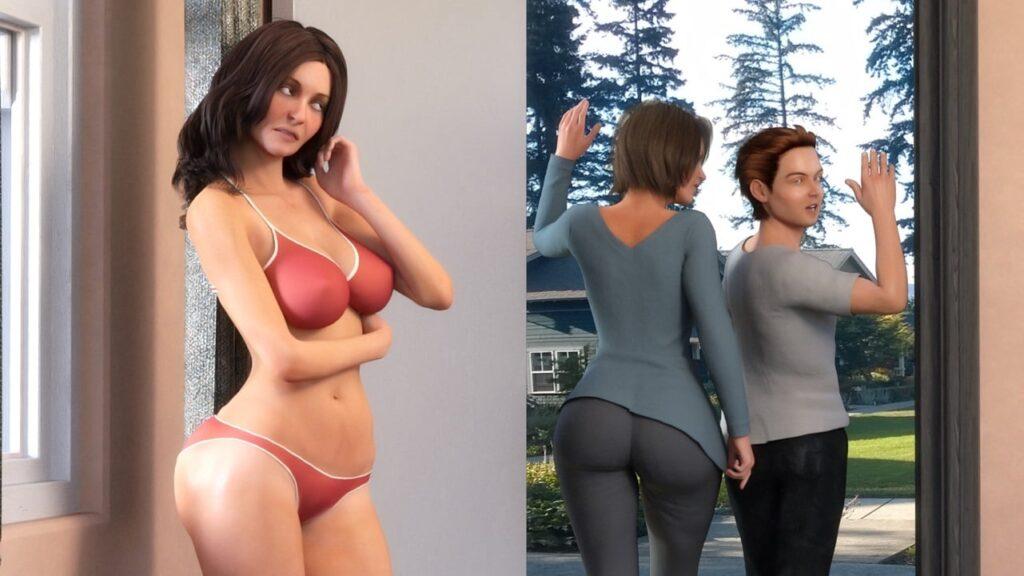 Visiting Aunt Sara Porn Game 4