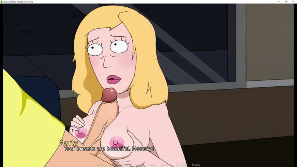 rick and morty sex game